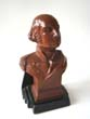 click to view detailed description of A fine single bookend of Gen. George Washington made by Ronson circa 1935